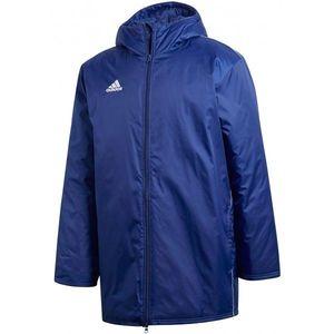 adidas CORE18 STD JKT niebieski S - Kurtka sportowa męska obraz