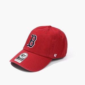 Czapka '47 MLB Boston Red Sox Clean Up B-RGW02GWS-RD obraz