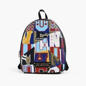 """Plecak Love Moschino """"Graphic"""" JC4048PP17LE100A obraz"""