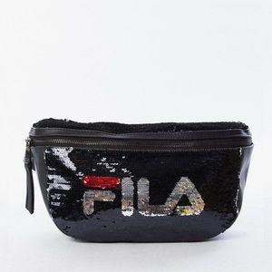 Saszetka torebka Fila Nero Sequin Bag 685201 002 obraz