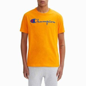 Champion Neck Logo T Shirt obraz