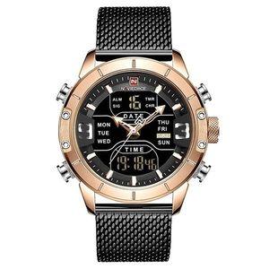Zegarek NAVIFORCE Top - Czarny/Złoty obraz
