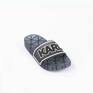 Klapki damskie Karl Lagerfeld Kondo Klear Slide KL80710 V00 obraz