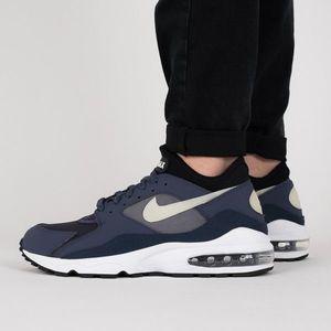 "Buty męskie sneakersy Nike Air Max 93 ""Obsidian"" 306551 500 obraz"