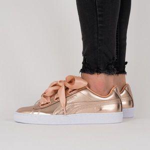 Buty damskie sneakersy Puma Basket Heart Luxe 366730 03 obraz