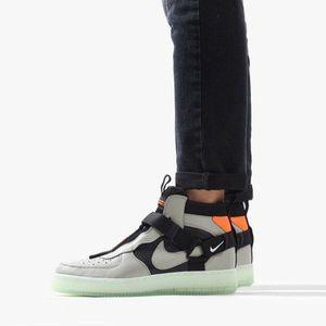 Buty męskie sneakersy Nike Air Force 1 Ultility Mid AQ9758 300 obraz