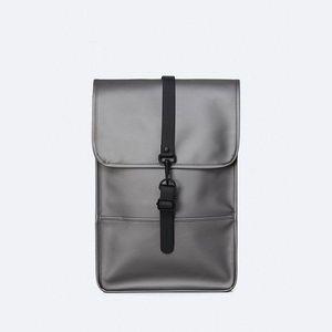 Plecak Rains Backpack Mini 1280 Metallic Charcoal obraz