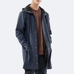 Kurtka Rains Long Jacket 1202 BLUE obraz