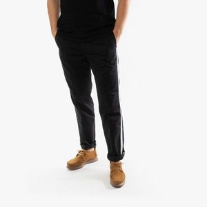 Spodnie męskie Carhartt WIP x Motown Master I027857 BLACK/OFF-WHITE obraz