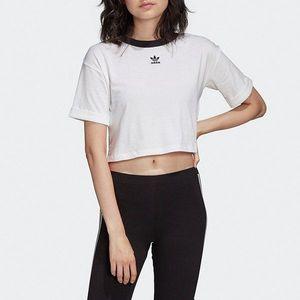 Koszulka damska adidas Originals Crop Top FM2556 obraz