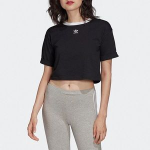 adidas Originals Crop Top Czarny obraz