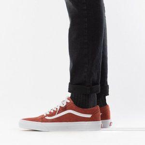 Brązowe sneakersy męskie obraz