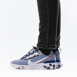 Niebieskie sneakersy męskie obraz
