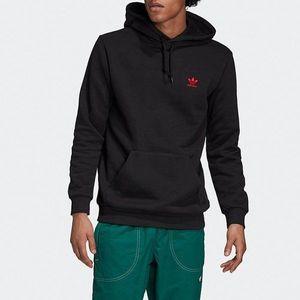 adidas Originals Trefoil Bluza Czerwony obraz