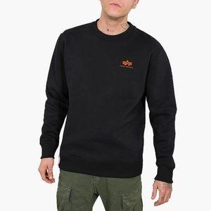 Bluza męska Alpha Industries Basic Sweater Small Logo Neon Print 188307NP 477 obraz