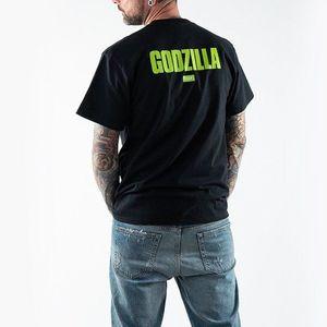 Koszulka męska HUF x Godzilla Bar Logo T-Shirt TS01369 BLACK obraz