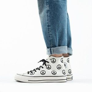 Buty sneakersy Converse Chuck 70 High Top 'Peace' 167894C obraz
