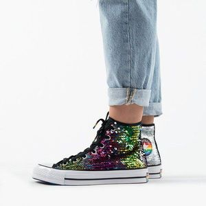 Buty damskie sneakersy Converse Chuck 70 Hi Top Pride 'Pride Never Stops' 167755C obraz