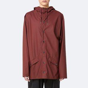 Kurtka damska Rains Jacket 1201 MAROON obraz
