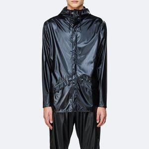 Kurtka Rains Jacket 1201 SHINY BLACK obraz