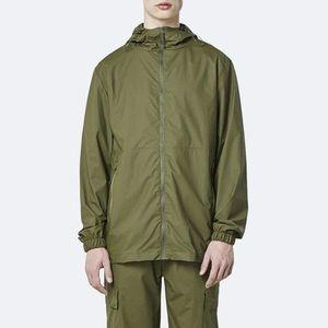 Kurtka męska Rains Ultralight Jacket 1816 SAGE obraz