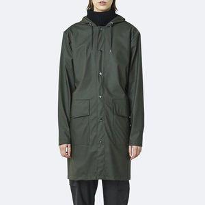 Płaszcz męski Rains Hooded Coat 1831 GREEN obraz