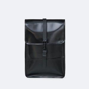 Plecak Rains Backpack Mini 1280 SHINY BLACK obraz