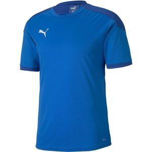 Puma TEAM FINAL 21 TRAINING JERSEY niebieski L - Koszulka męska obraz