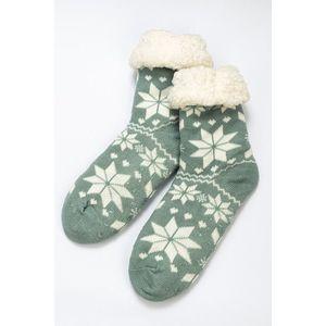 Zimowe skarpetki - fioletowy - Rozmiar 35-42 obraz