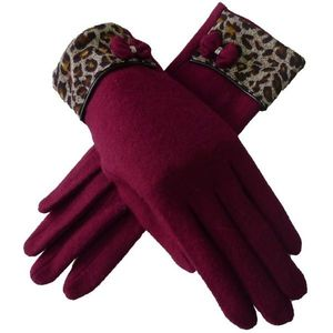 Rękawiczki Vanesa - Bordo obraz
