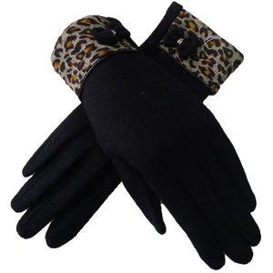 Rękawiczki Vanesa - Czarny obraz