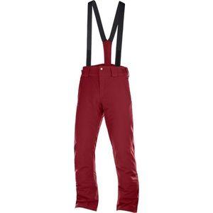 Salomon STORMSEASON bordowy XL - Spodnie narciarskie męskie obraz