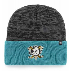 47 NHL ANAHEIM DUCKS TWO TONE BRAIN FREEZE '47 CUFF KNIT BLK UNI - Czapka zimowa obraz