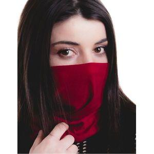 Maska na twarz Komin Livia - Czerwony obraz