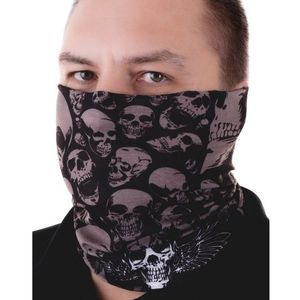 Maska na twarz Komin męski - Czaszka/Typ3 KP7008 obraz