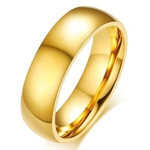 Pierścień męski Boundless - Złoty/52mm KP4925 obraz
