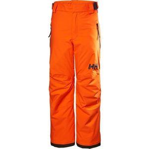 Helly Hansen JR LEGENDARY PANT pomarańczowy 14 - Spodnie narciarskie dziecięce obraz