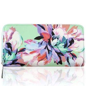 Portfel Flowers - Zielony KP7207 obraz