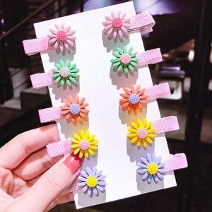 Spinki dziecięce Flowers - Typ1 KP7484 obraz