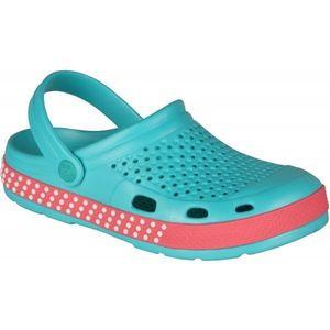Niebieskie sandały damskie obraz