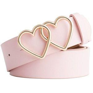 Pasek Hearts - Różowy KP8277 obraz