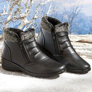 Buty z cholewkami Mara - brązowe - Rozmiar 36 obraz